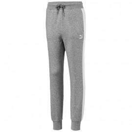 Pantalon Sweat Sport Gris Fille Puma