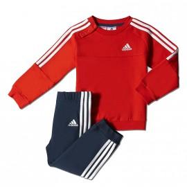Survêtement Rouge Bébé Garçon Adidas