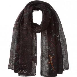Foulard rectangle Noa Noir Femme Desigual