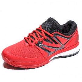 Chaussures Stabil Boost Rouge Handball Homme Adidas