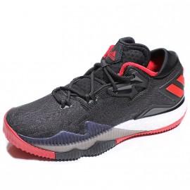 Chaussures CrazyLight Boost Low Noir Basketball Garçon Adidas
