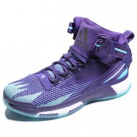 Chaussures D Rose 6 Boost Primeknit Bleu Basketball Homme Adidas