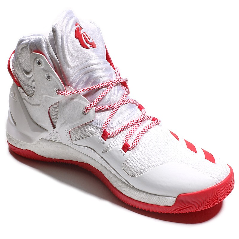 the latest 38ed0 3e08a Chaussures D Rose 7 Blanc Basketball Homme Adidas