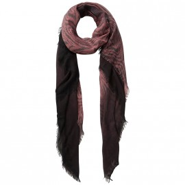 Foulard Rania Long Scarf Rose Femme Pieces