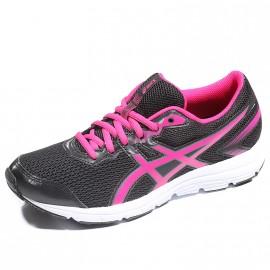 Chaussures Gel Zaraca 5 GS Noir Running Fille Asics