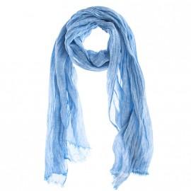 Foulard en lin Oblong Bleu Homme Levi's