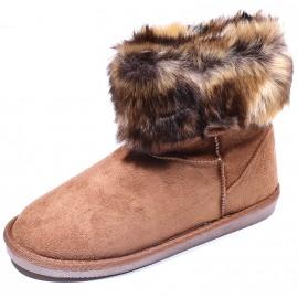 Boot Parrisa Winter Marron Femme Pieces