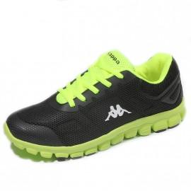 Chaussures Speeder Noir Vert Homme Kappa