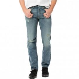 Pantalon 511  Slim Route 49 Bleu Homme Levi's