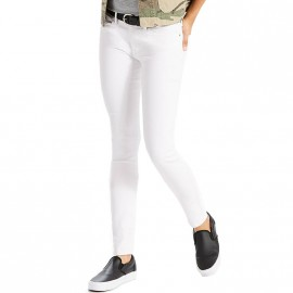 Jean 711 Skinny Soft Clean Blanc Femme Levi's