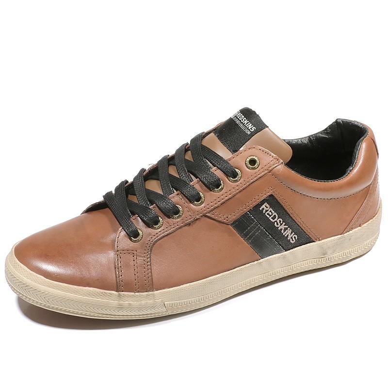 762e34a239bce Chaussures Arfa Marron Homme Redskins