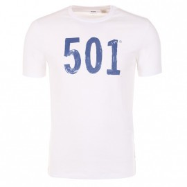 Tee-shirt Graphic set Blanc Homme Levi's
