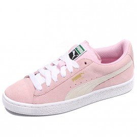 Chaussures Suède Rose Fille Puma