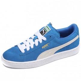 Chaussures Suède Bleu Garçon Puma