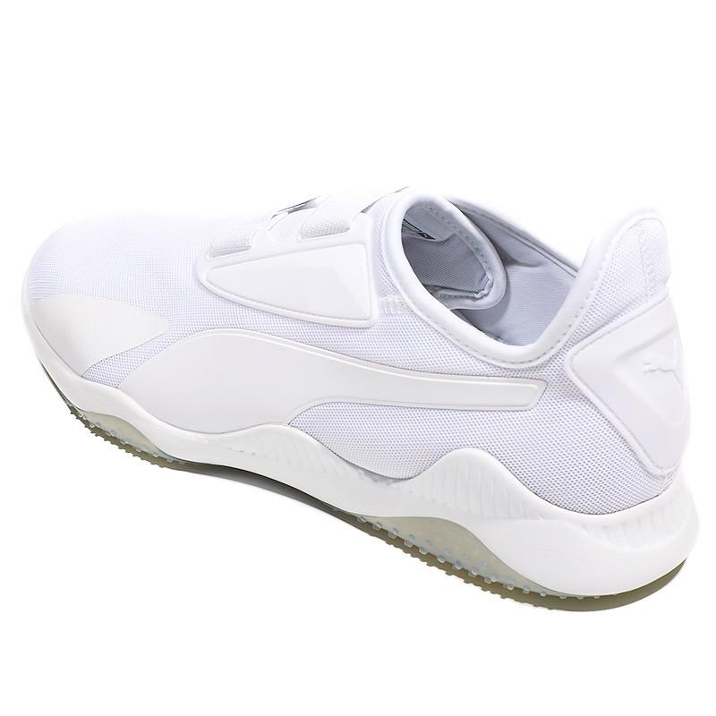 Homme Mostro Blanc Puma Mesh Chaussures xUvF8H