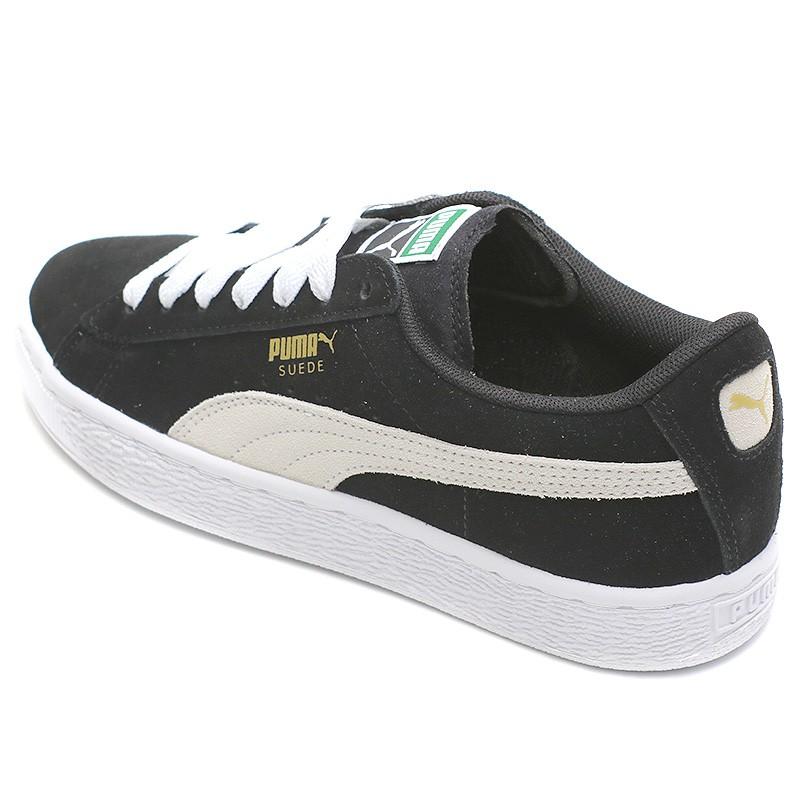 Chaussures Suède Noir GarçonFille Puma