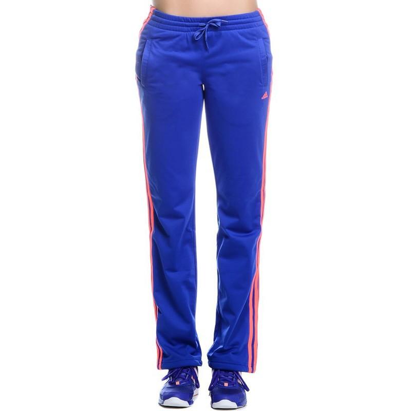 Pantalon Entrainement Bleu Femme Adidas