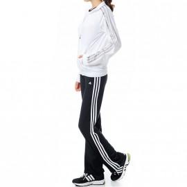 Survêtement Clima Knit suit Balnc Entrainement Femme Adidas