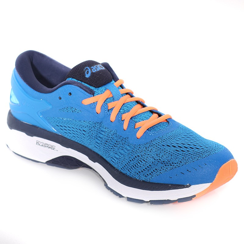 chaussures gel kayano 24 bleu running homme asics. Black Bedroom Furniture Sets. Home Design Ideas