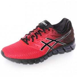 Chaussures Gel Quantum 180 2 Rouge Noir Running Homme Asics
