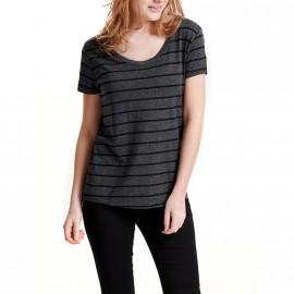 Tee-shirt Coast Gris Femme Jacqueline de Yong