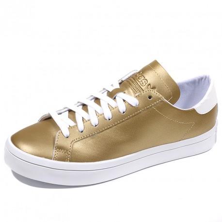 Chaussures Court Vantage Or Femme Adidas