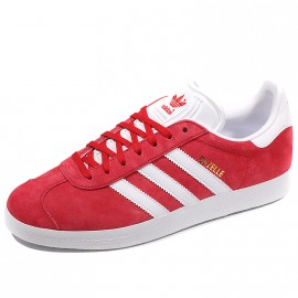Chaussures Gazelle Rouge Homme Adidas