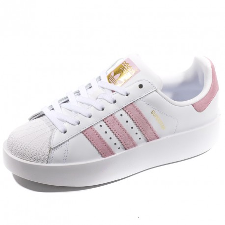 adidas chaussure superstar rose
