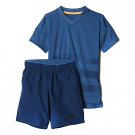 Ensemble Bleu Bébé Garçon Adidas