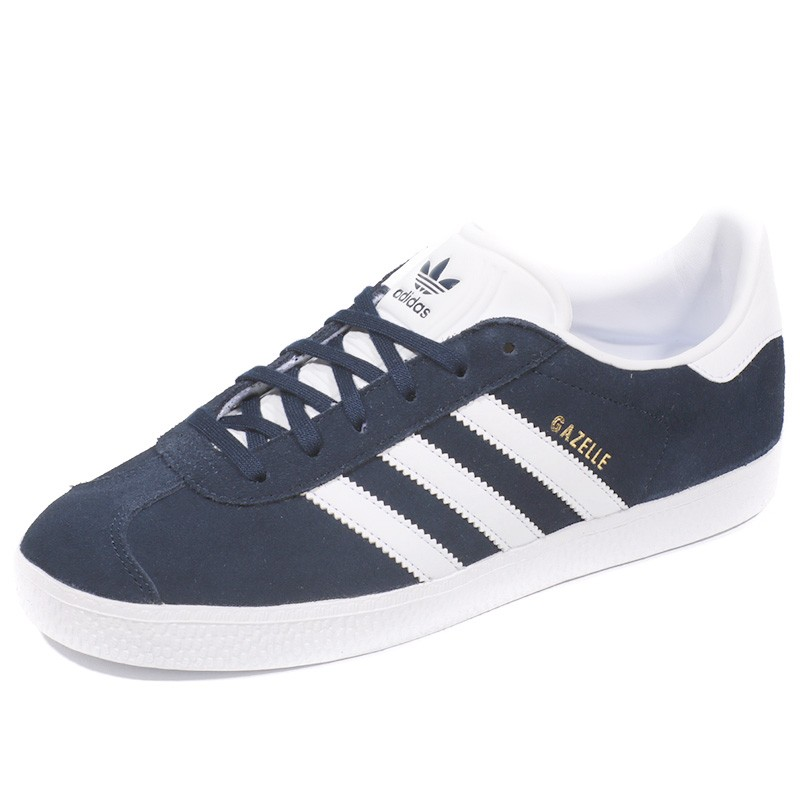 Chaussures Gazelle Bleu Garçon Fille Femme Adidas