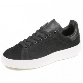 Chaussures Stan Smith Bold Noir Femme Adidas