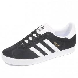 Chaussures Gazelle Noir Garçon Fille Femme Adidas