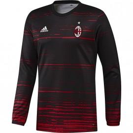Maillot de Présentation Milan AC Noir Football Homme Adidas