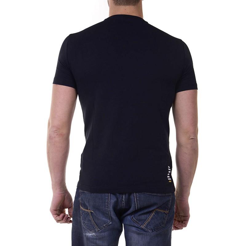 tee shirt noir homme emporio armani. Black Bedroom Furniture Sets. Home Design Ideas
