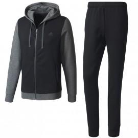Survêtement Coton Entrainement Noir Homme Adidas