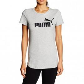 Tee-shirt N°1 Logo Gris Femme Puma