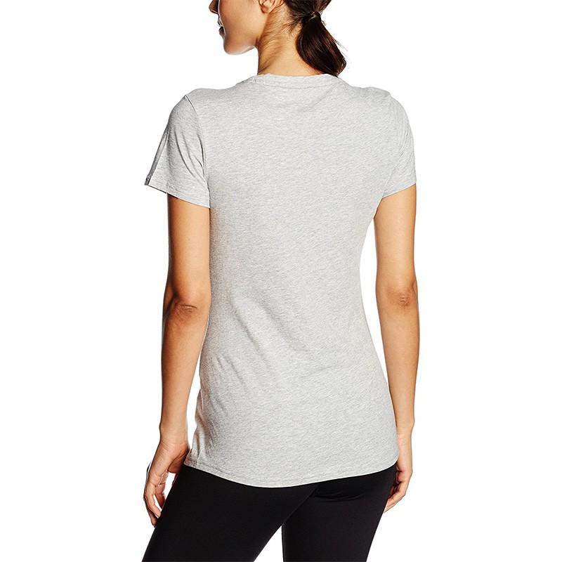 tee shirt n 1 logo gris femme puma. Black Bedroom Furniture Sets. Home Design Ideas