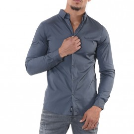 Chemise Duly Gris Homme Kaporal