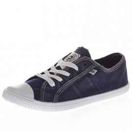 Chaussures Rio Bleu Femme Trekker Nine