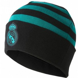 Bonnet Real de Madrid Football Noir Homme Adidas