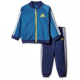 Survêtement Shiny Bleu Bébé Garçon Adidas
