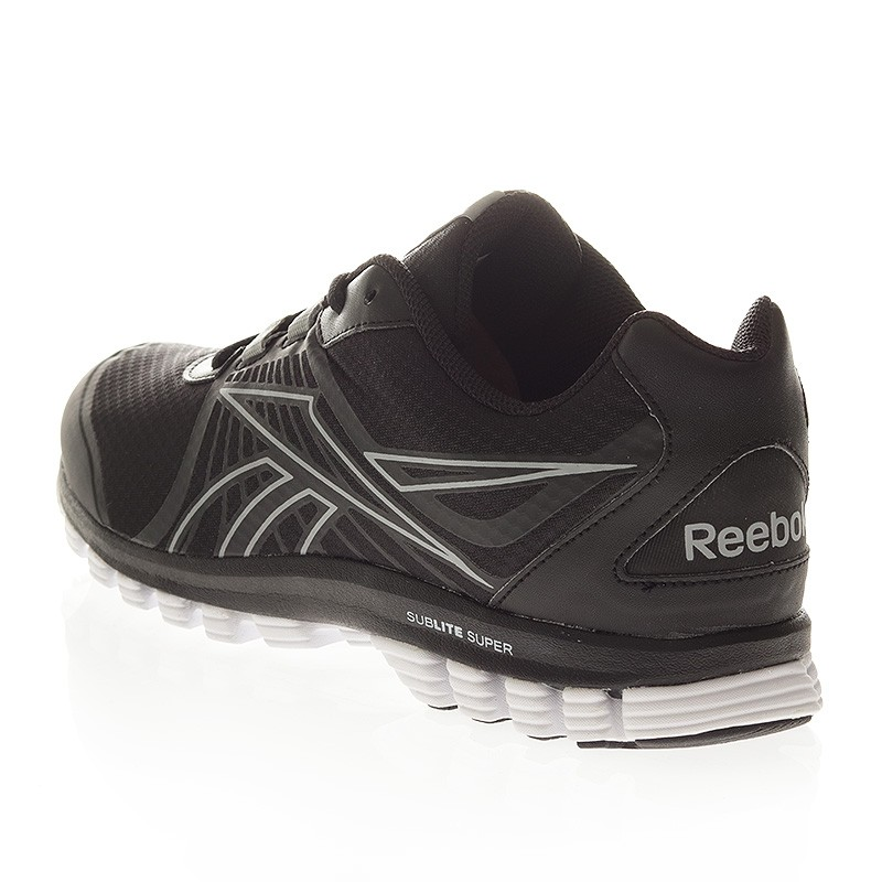 Super Speed Running Reebok Sublite Chaussures Duo Noir qOwHtz5 Homme wT0q6Ut