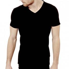 Tee-shirt Slim Noir Homme Guess