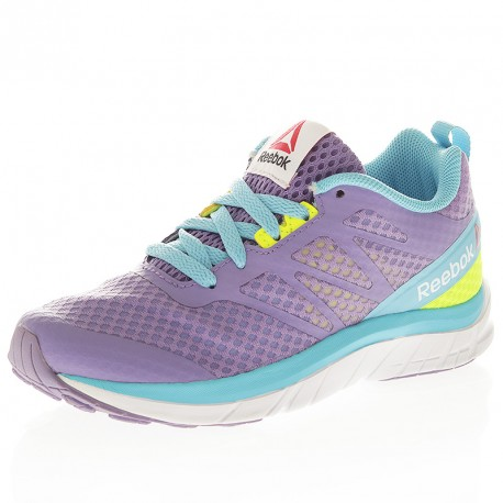 Reebok Sport Soquick Violet - Chaussures Baskets basses Femme