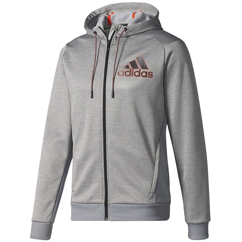 Sweat Polaire Gris Homme Adidas