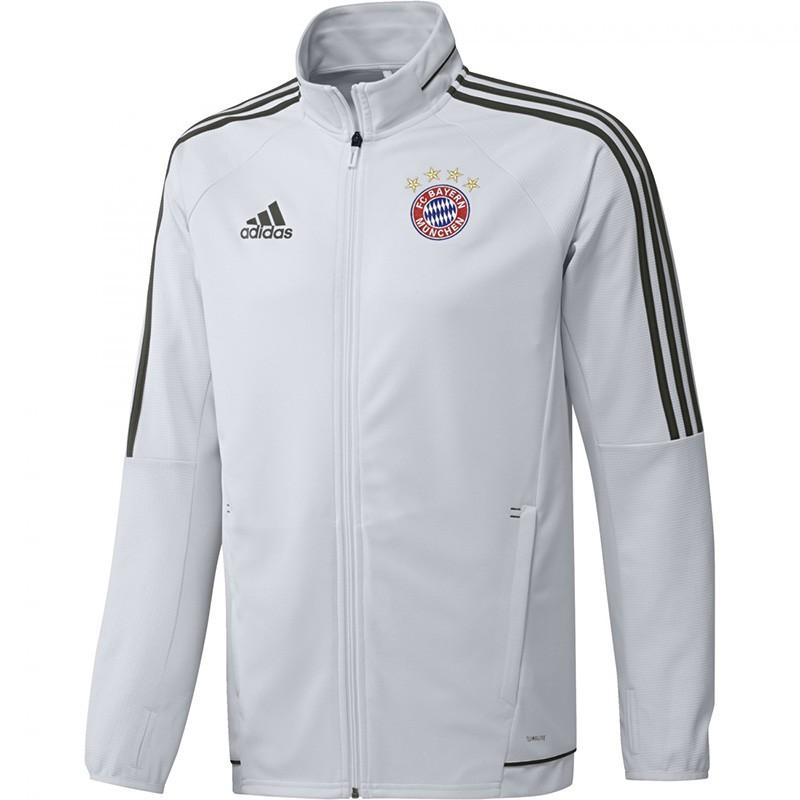 Veste Bayern de Munich Football Blanc Homme Adidas