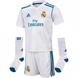 Minikit Real Madrid Blanc Football Garçon Adidas