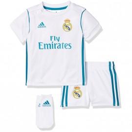 Minikit Real Madrid Blanc Football Bébé Garçon Adidas
