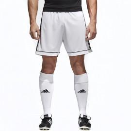 Short Football Blanc Homme Adidas