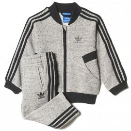 Survêtement Gris Bébé Garçon/Fille Adidas
